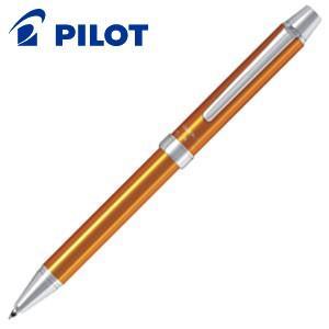 高級 マルチペン 名入れ パイロット ツープラスワン エボルト 多機能筆記具 細字0.7ミリボール黒・赤+0.5ミリシャープ オレンジ BTHE-1SR-O|nomado1230