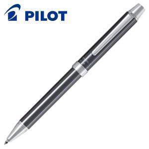高級 マルチペン 名入れ パイロット ツープラスワン エボルト 多機能筆記具 細字0.7ミリボール黒・赤+0.5ミリシャープ グレー BTHE-1SR-GY|nomado1230