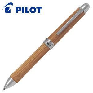 高級 マルチペン 名入れ パイロット ツープラスワン レグノ 多機能ペン ブラウン BTHL-3SK-BN|nomado1230