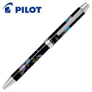 パイロット ツープラスワン 雅絵巻 多機能ペン 紫陽花 BTHM-3SR-AJ nomado1230