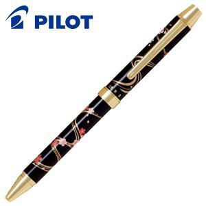 高級 マルチペン パイロット ツープラスワン 雅絵巻 多機能ペン 流水桜 BTHM-3SR-RS|nomado1230