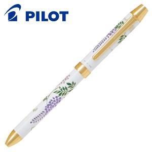 高級 マルチペン パイロット ツープラスワン 雅絵巻 多機能ペン 藤 BTHM-5SR-FUJW|nomado1230