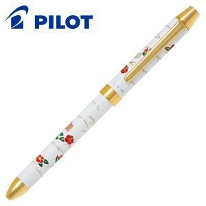 高級 マルチペン パイロット ツープラスワン 雅絵巻 多機能ペン 椿 BTHM-5SR-TBKW|nomado1230