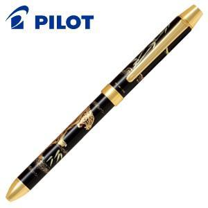 高級 マルチペン パイロット ツープラスワン 雅絵巻 多機能ペン 虎 BTHM-5SR-TR|nomado1230