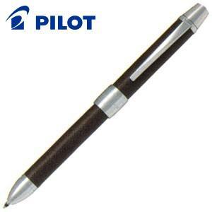 高級 マルチペン パイロット ツープラスワン リッジ レザー マルチペン ブラウン BTHR-3SL-BN|nomado1230
