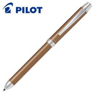高級 マルチペン 名入れ パイロット ツープラスワン リッジ 多機能ペン ブラウン BTHR-3SR-BN|nomado1230