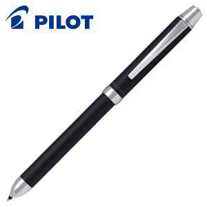 高級 マルチペン 名入れ パイロット ツープラスワン リッジ 多機能筆記具 細字0.7ミリボール黒・赤+0.5ミリシャープ ブラック BTHR-3SR-B|nomado1230