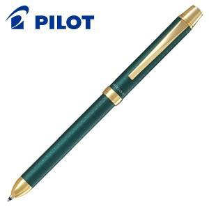 高級 マルチペン 名入れ パイロット ツープラスワン リッジ 多機能ペン ダークグリーン BTHR-5SR-DG|nomado1230