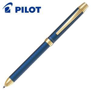高級 マルチペン 名入れ パイロット ツープラスワン リッジ 多機能ペン ダークブルー BTHR-5SR-DL|nomado1230