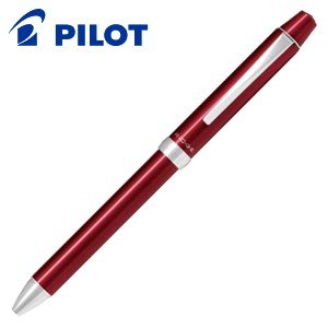 高級 マルチペン 名入れ パイロット スリープラスワン リッジ 多機能ペン ボルドー BTHRT5SR-BO|nomado1230