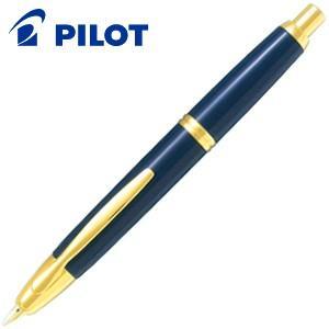 万年筆 名入れ パイロット キャップレス 万年筆 ダークブルー FC-15SR-DL|nomado1230
