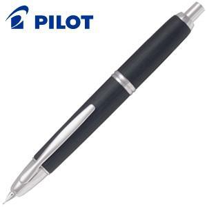 万年筆 名入れ パイロット キャップレス 木軸 万年筆 ブラック FC-25SK-B nomado1230