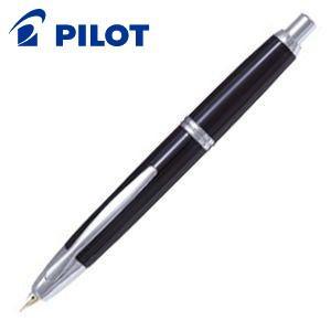 万年筆 名入れ パイロット キャップレス 万年筆 ブラック FCN-1MR-|nomado1230