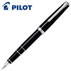 万年筆 名入れ パイロット エラボー ロジウム 万年筆 ブラック FE-25SR-B|nomado1230