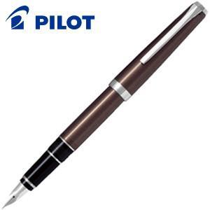 万年筆 名入れ パイロット エラボー ロジウム 万年筆 ブラウン FE-25SR-BN|nomado1230