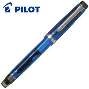 万年筆 名入れ パイロット カスタム ヘリテイジ92 万年筆 透明ブルー FKVH-15SRS-TL|nomado1230