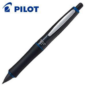 シャーペン 高級 パイロット ドクターグリップ フルブラック シャープペンシル ブルー HDGFB-80R-L|nomado1230