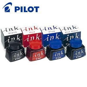 万年筆 インク パイロット 30ミリリットル ボトルインク ブルーブラック INK-30-BB|nomado1230