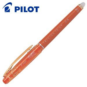ゲルインク パイロット フリクションポイント04 ゲルインキボールペン 10本セット オレンジ LF-22P4-O|nomado1230