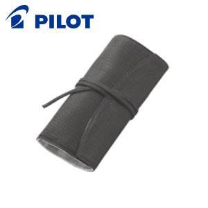 ペンケース 革 名入れ パイロット ロール 5本差 ペンサンブル ペンケース ブラック PSR5-01-B nomado1230