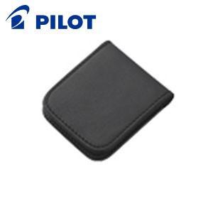 万年筆 インク 革 パイロット ソメス カートリッジケース ブラック SLCC-01-B|nomado1230