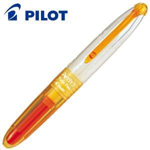 パイロット ペチットワン・ツー・スリー ペチット3 筆ペンタイプ 5セット (アプリコットオレンジ) SPN-15KK-AO nomado1230