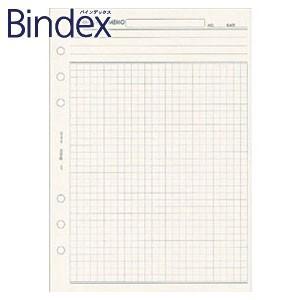 リフィル A5 バインデックス Bindex NOLTY A5 インフォメーションメモ 方眼 リフィール 5冊セット A5421|nomado1230