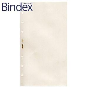 リフィル バイブルサイズ バインデックス Bindex NOLTY バイブル クリアファイル3 厚口 リフィール 5冊セット No. 620|nomado1230