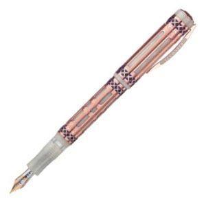 ビスコンティ 限定品 ロマニカ 万年筆 バーメイル V20552|nomado1230