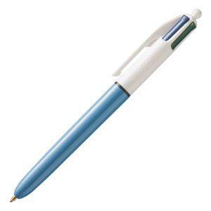 高級 マルチペン ビック(BIC) ステーショナリー 多色・多機能ペン 4色ボールペン 1.0ミリ 12本セット 4CMDBLU|nomado1230