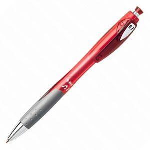 高級 ボールペン ビック(BIC) AI BP 0.7ミリ 1Pボールペン 10本セット アカ AIBP07RED1P|nomado1230