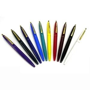 高級 ボールペン ビック(BIC) クリックゴールド 0.7ミリ ボールペン 12本セット ダークグリーン CFCGGRN07BLKJ|nomado1230