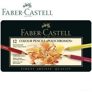 ファーバーカステル ポリクロモスシリーズ ポリクロモス油性色鉛筆 12色 No. 110012|nomado1230
