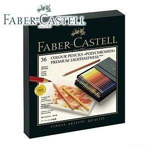 ファーバーカステル ポリクロモスシリーズ ポリクロモス油性色鉛筆 36色・スタジオBOX No. 110038|nomado1230