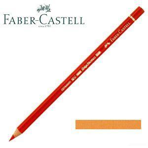 ファーバーカステル ポリクロモス 色鉛筆 単色 (グレージングオレンジ) 12本セット No. 110113|nomado1230