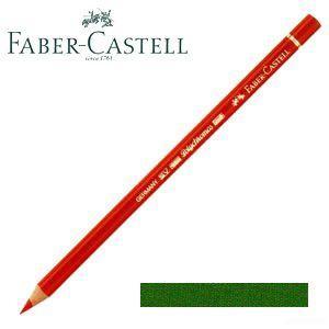ファーバーカステル ポリクロモス 色鉛筆 単色 (ジェニパーグリーン) 12本セット No. 110165 nomado1230