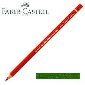 ファーバーカステル ポリクロモス 色鉛筆 単色 (パーマネントグリーンオリーブ) 12本セット No. 110167|nomado1230