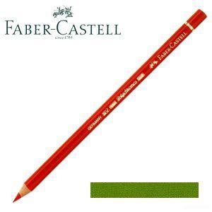 ファーバーカステル ポリクロモス 色鉛筆 単色 (アースイエローグリーン) 12本セット No. 110168|nomado1230