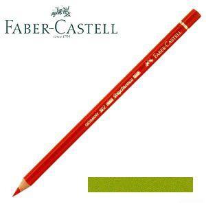 ファーバーカステル ポリクロモス 色鉛筆 単色 (メイグリーン) 12本セット No. 110170|nomado1230