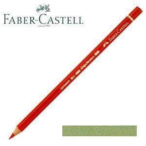 ファーバーカステル ポリクロモス 色鉛筆 単色 (アースグリーン) 12本セット No. 110172 nomado1230
