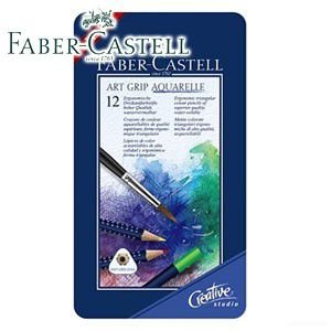 ファーバーカステル アートグリップシリーズ アートグリップ水彩色鉛筆 12色 No. 114212|nomado1230