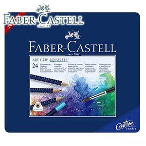 ファーバーカステル アートグリップシリーズ アートグリップ水彩色鉛筆 24色 No. 114224|nomado1230