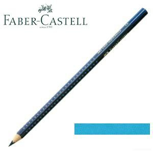 ファーバーカステル アートグリップ 水彩色鉛筆 単色 (ライトフタロブルー) 12本セット No. 114245|nomado1230