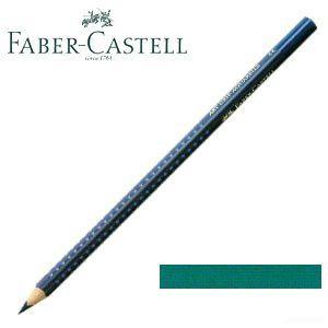 ファーバーカステル アートグリップ 水彩色鉛筆 単色 コバルトターコイズ(ピーコックブルー) 12本セット No. 114253|nomado1230