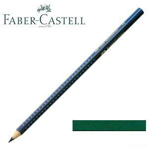 ファーバーカステル アートグリップ 水彩色鉛筆 単色 ヘリオターコイズ(ナイトグリーン) 12本セット No. 114255|nomado1230