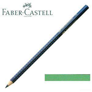 ファーバーカステル アートグリップ 水彩色鉛筆 単色 ライトフタログリーン(トゥルーグリーン) 12本セット No. 114262|nomado1230
