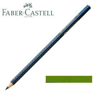 ファーバーカステル アートグリップ 水彩色鉛筆 単色 アースイエローグリーン(モスグリーン) 12本セット No. 114268|nomado1230