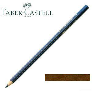 ファーバーカステル アートグリップ 水彩色鉛筆 単色 (ブァンダイクブラウン) 12本セット No. 114276|nomado1230