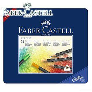 ファーバーカステル アートグリップシリーズ アートグリップ油性色鉛筆 24色 No. 114324|nomado1230