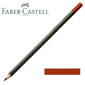 ファーバーカステル アートグリップ 油性色鉛筆 単色 (バーントオーカー) 12本セット No. 114387|nomado1230